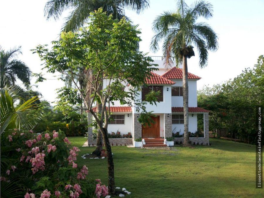 villa espectacular en aut duarte