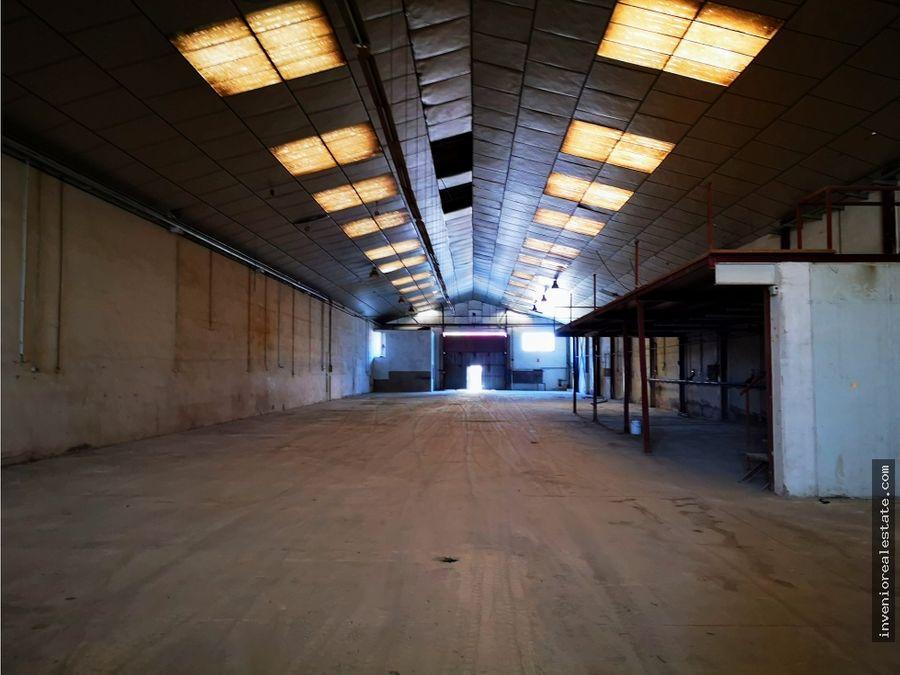 nave industrial en almassora