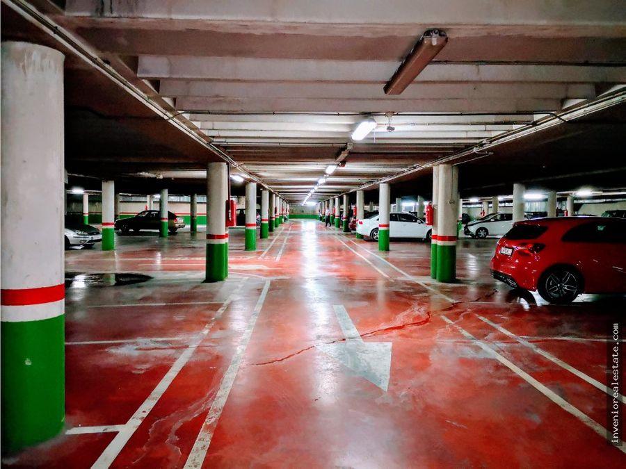 plazas de garaje en alquiler