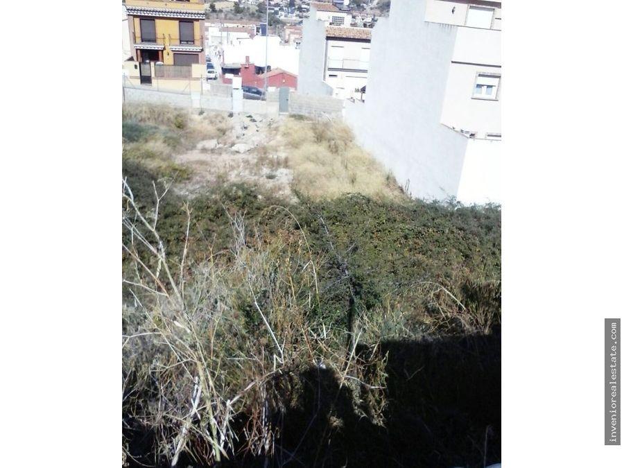 terreno urbano en la vall duixo