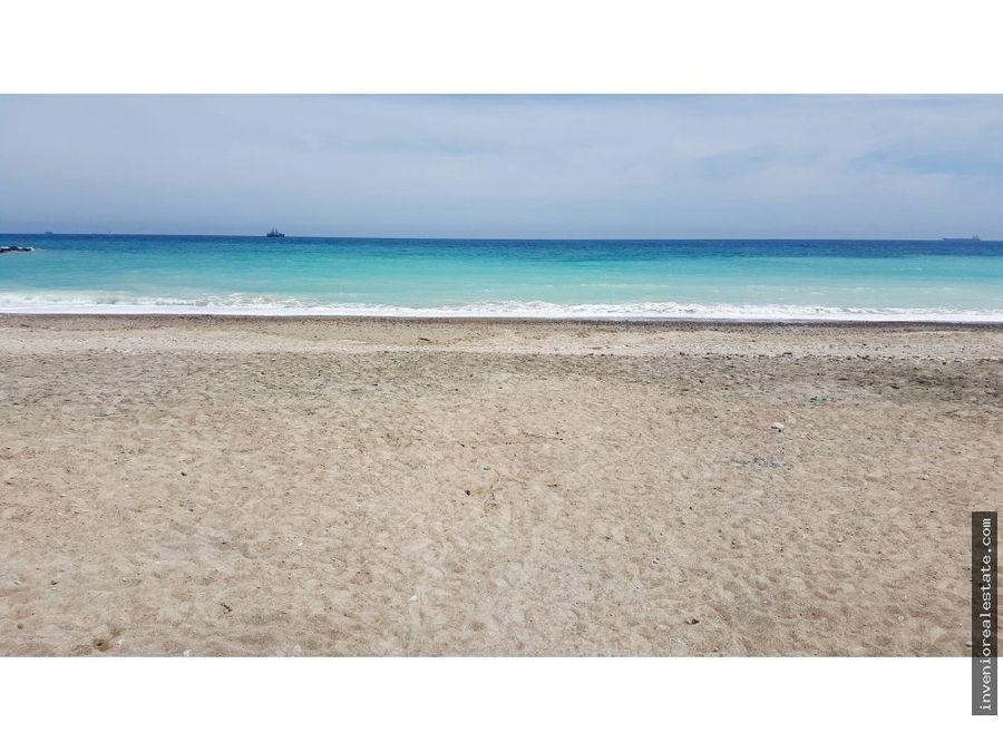 chalet en la playa de almazora