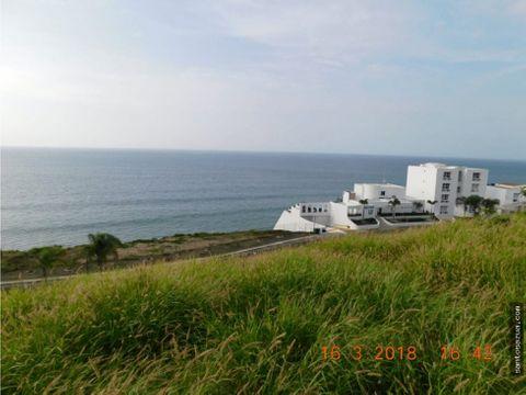 terreno multifamiliar vista al mar en manta manabi