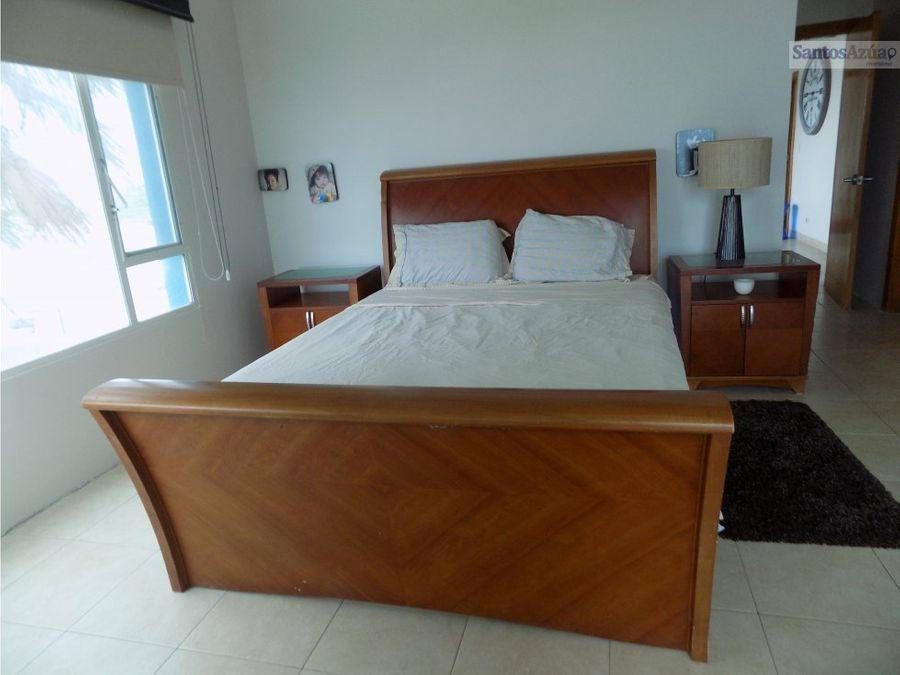 departamento 3 dormitorios vista al mar en manta