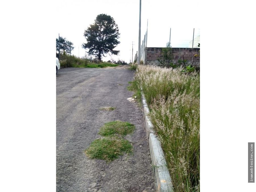 terreno en venta en atempan tlaxcala