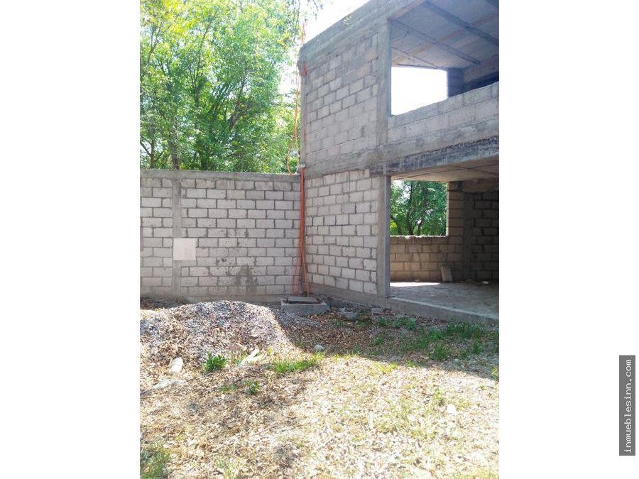 casa en venta en construccion en belen tlaxcala