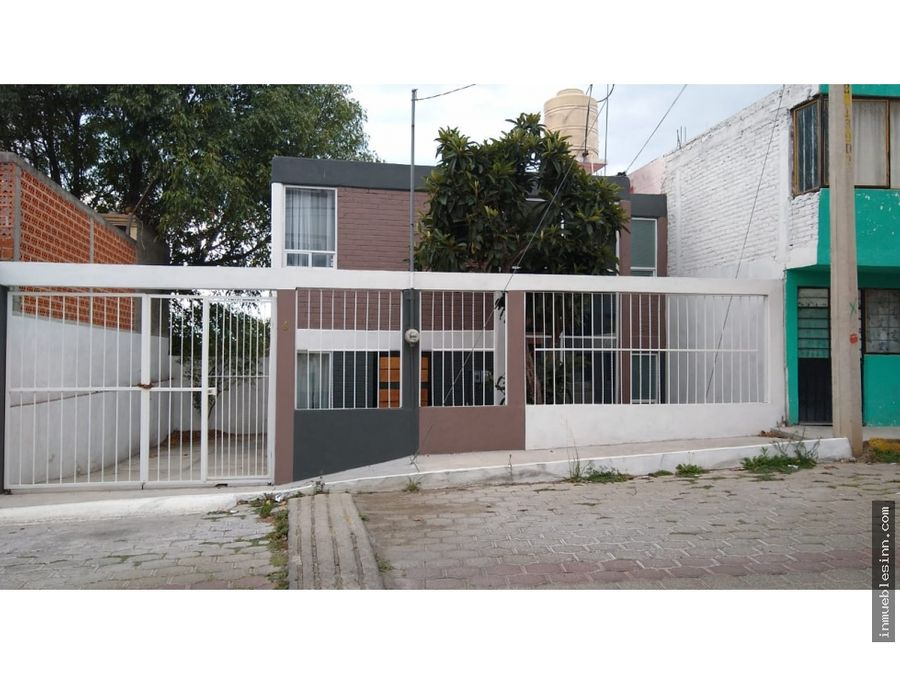 casa en venta en san gabriel cuautla tlaxcala