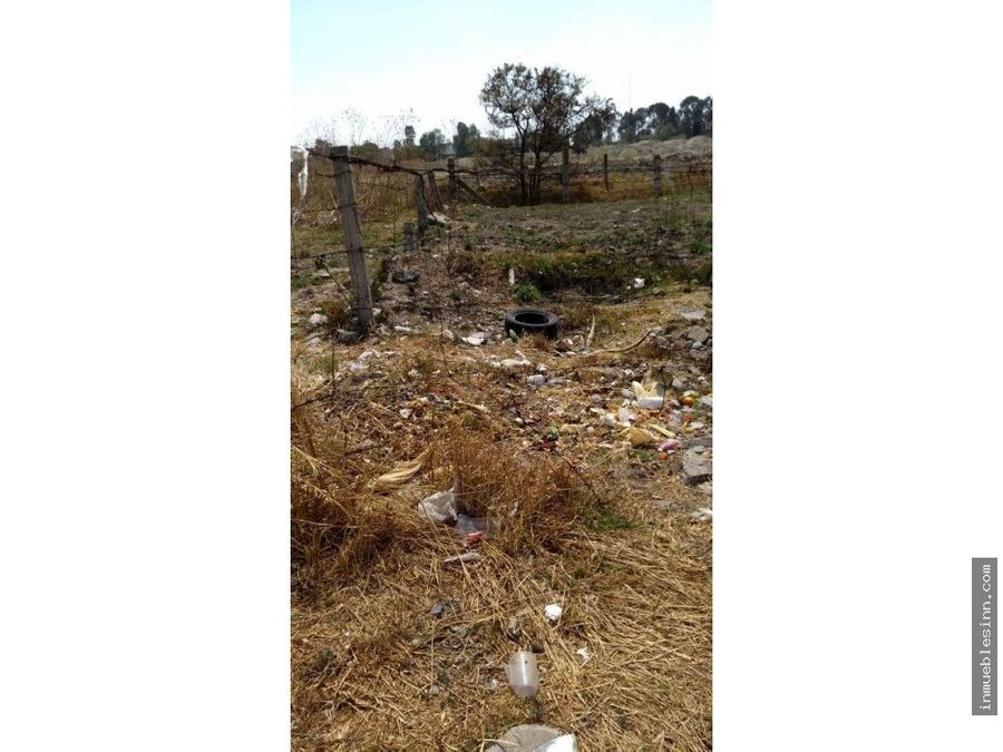 vendo terreno en chiautempan tlaxcala
