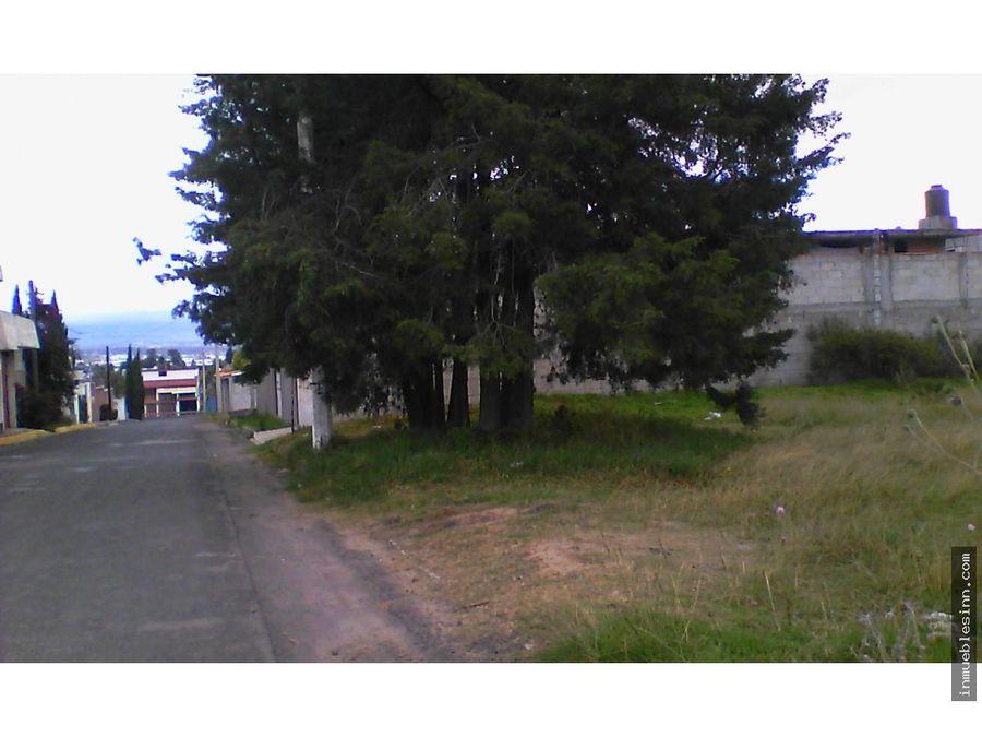 terreno en venta tizatlan tlaxcala