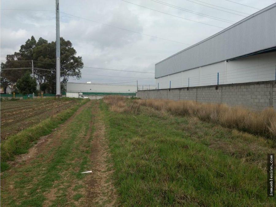terreno industrial en venta en papalotla tlax