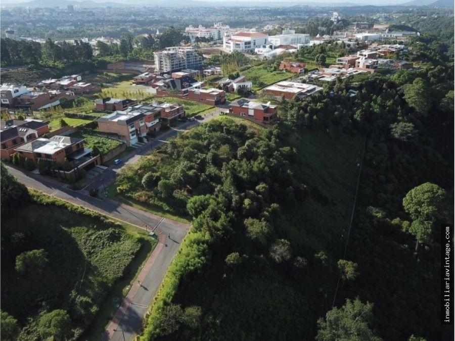 terreno venta acacias de cayala z16 condominio exclusivo