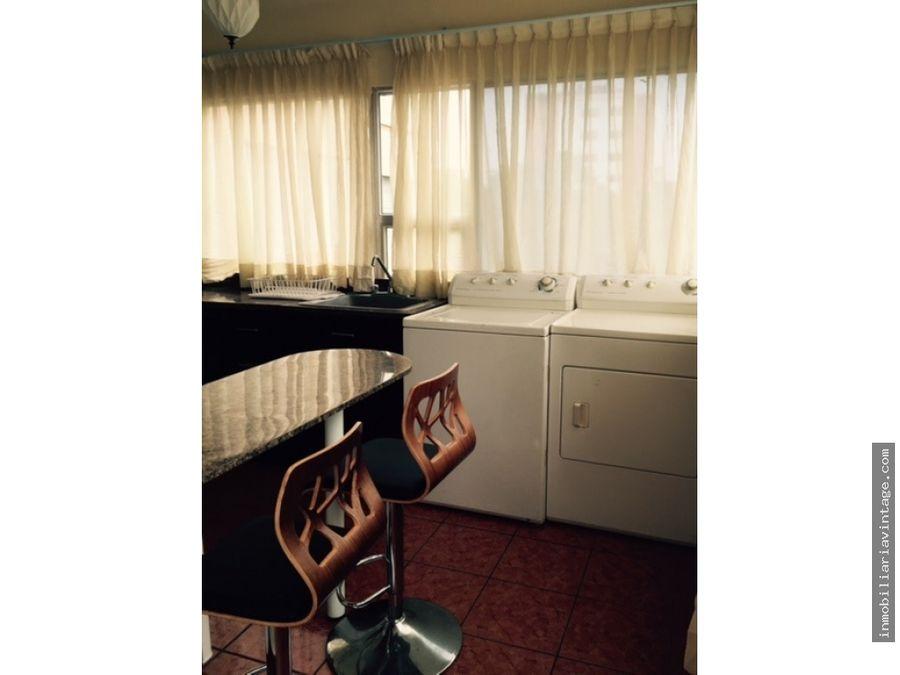 lindo apartamento en renta totalmente amueblado zona 13