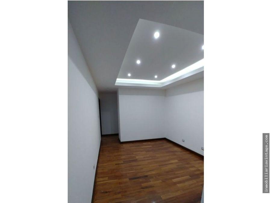apartamento con vista espectacular zona 14