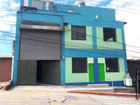 ofibodega en renta zona 13 sector pamplona