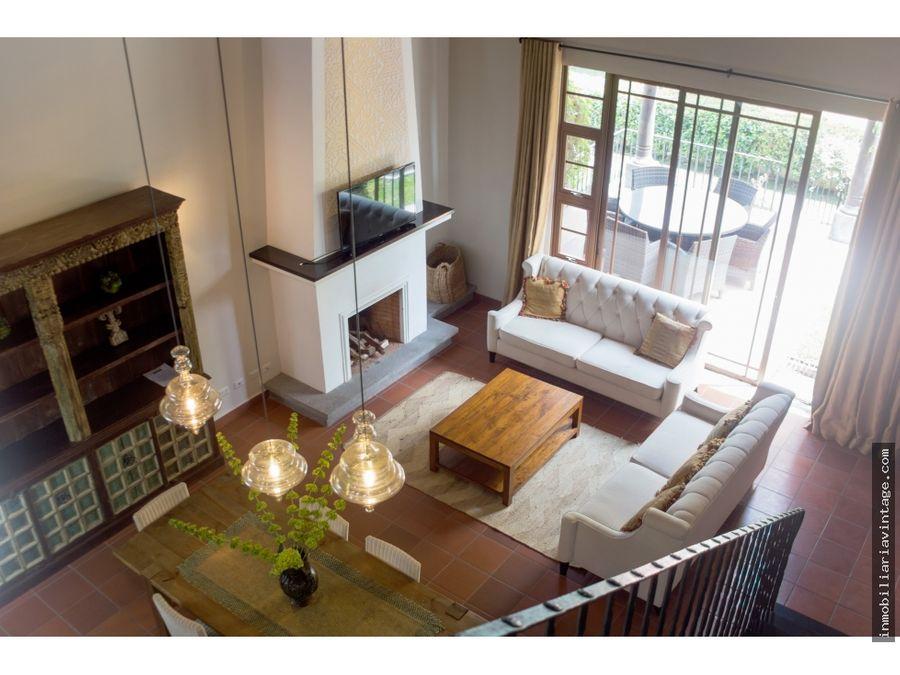 loft en venta condominio el monasterio antigua guatemala