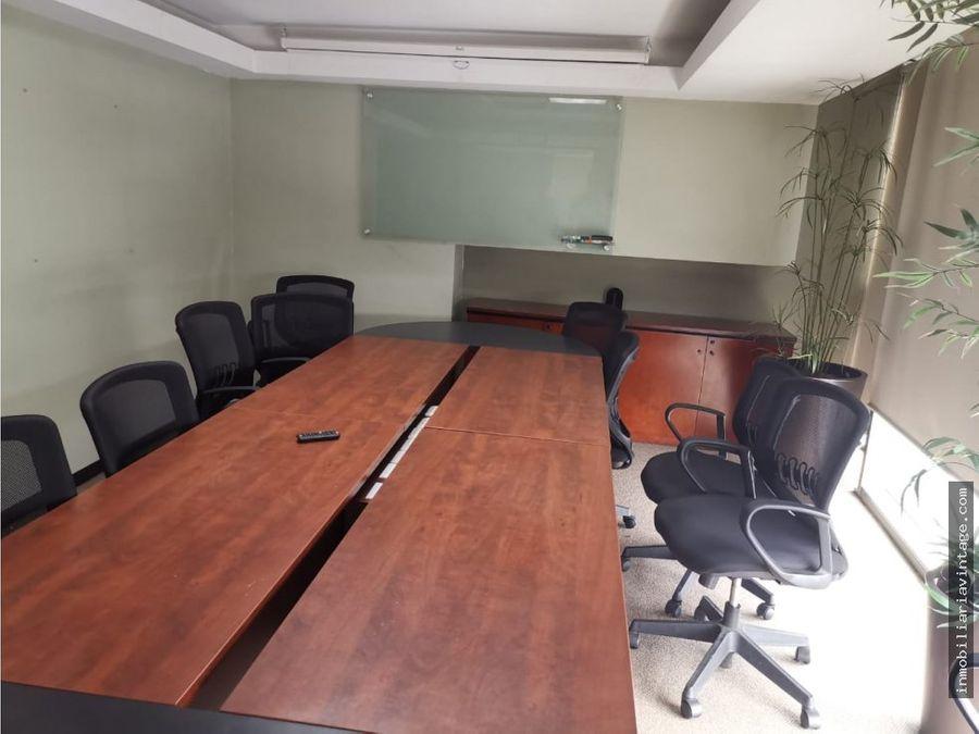 renta oficina en edificio zona 10