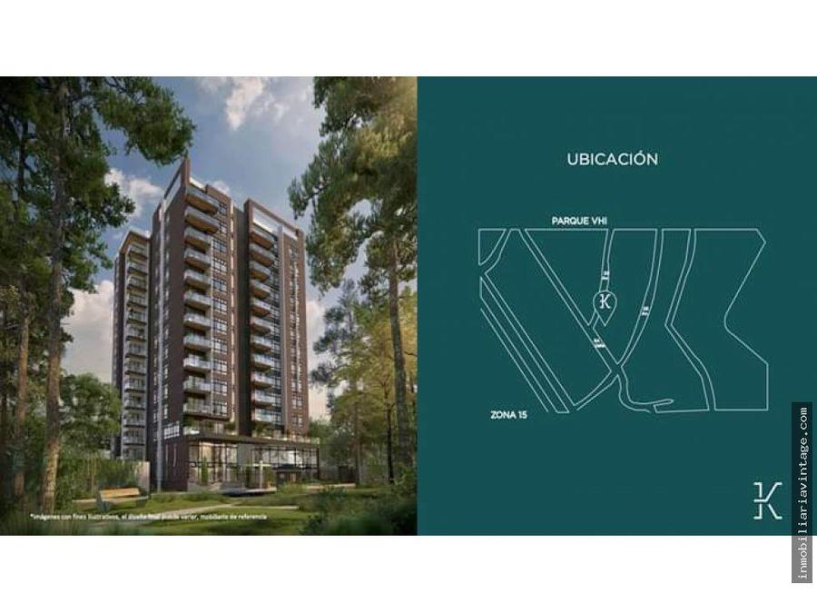 en venta apartamento nuevo zona 15 vh1