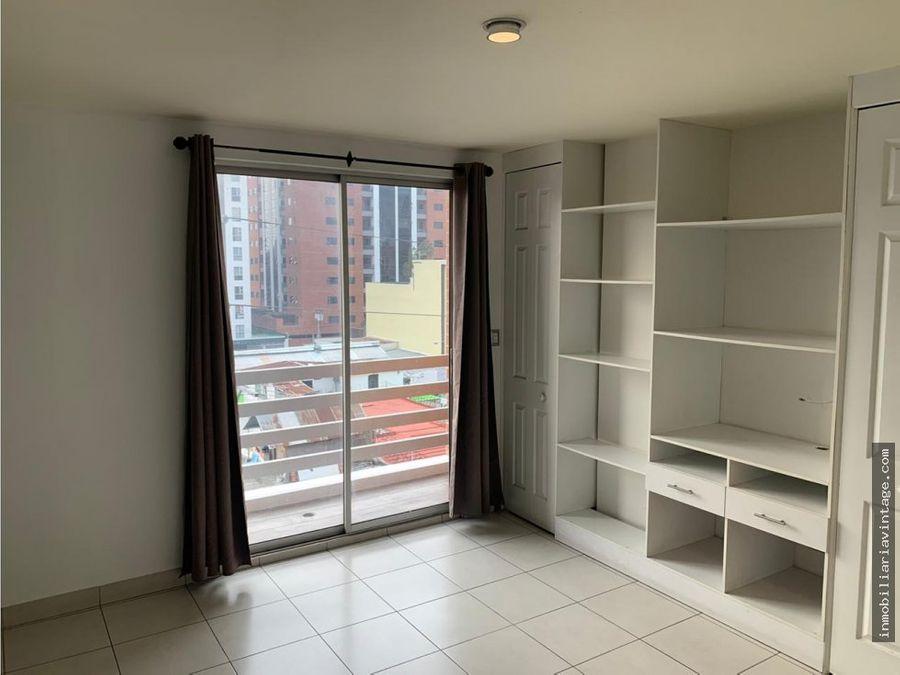 moderno apartamento en renta zona 10