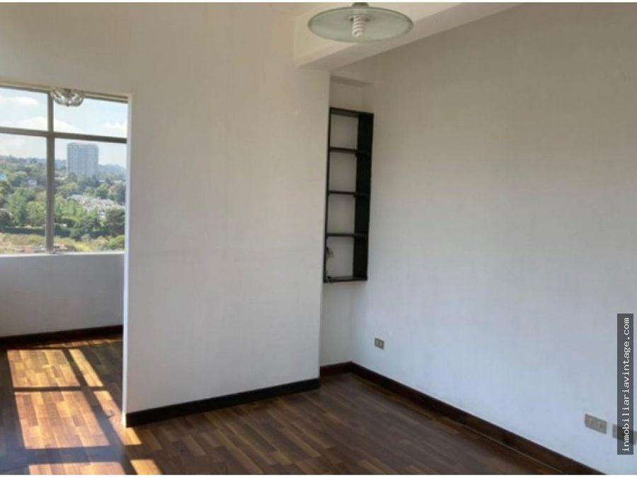 apartamento en edificio zona 15 por sector san lazaro