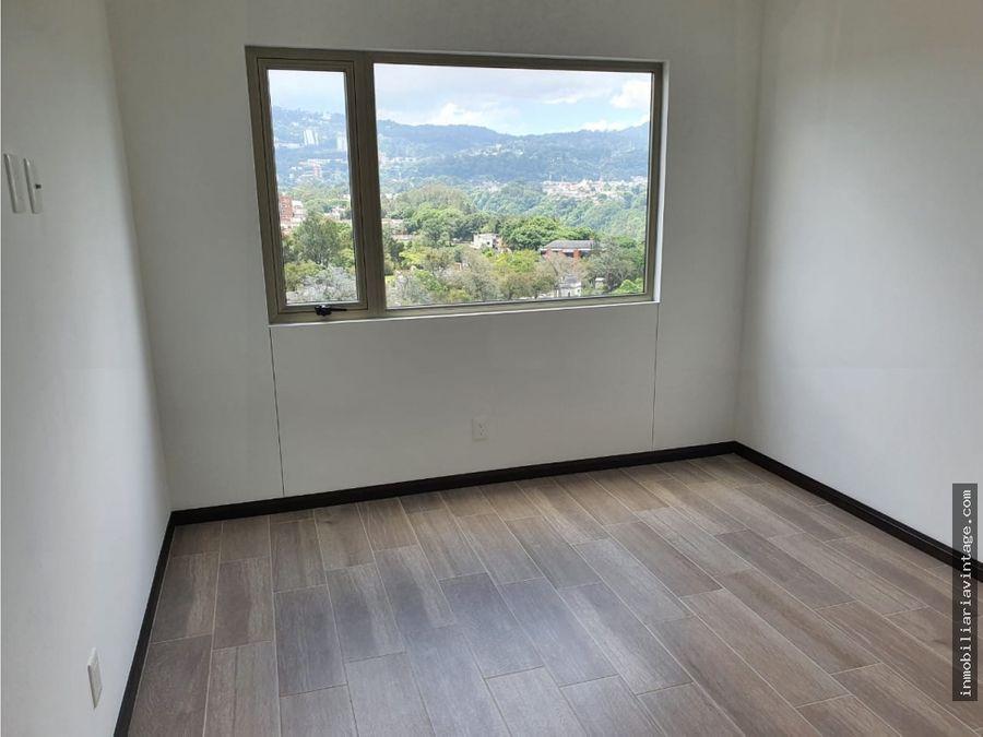 renta apartamentos zona 14 la villa