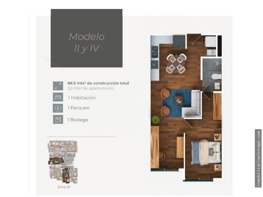 apartamentos en venta edificio moretti zona 10