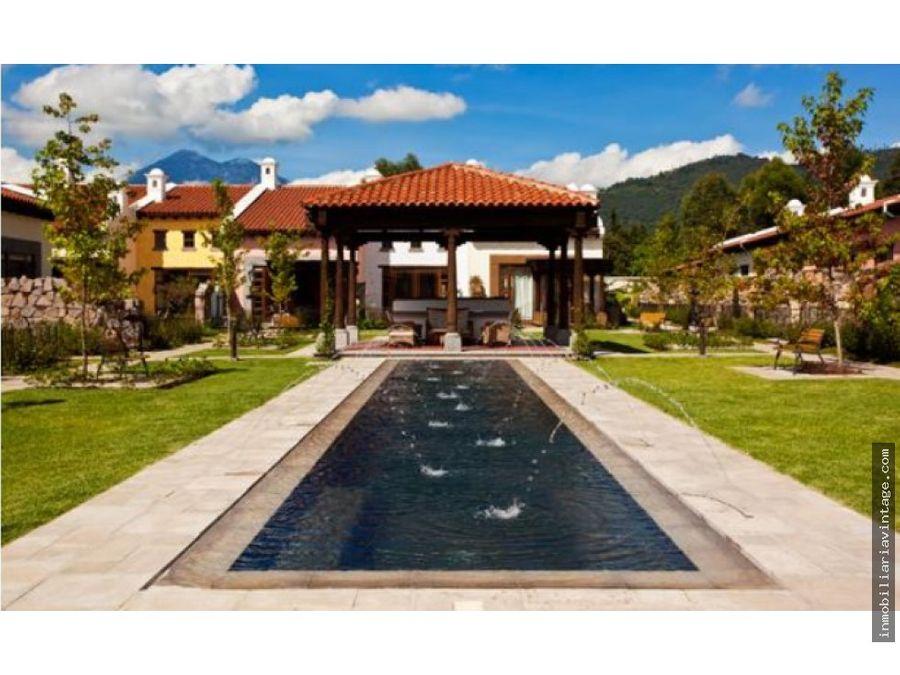 casa tipo loft en venta antigua guatemala