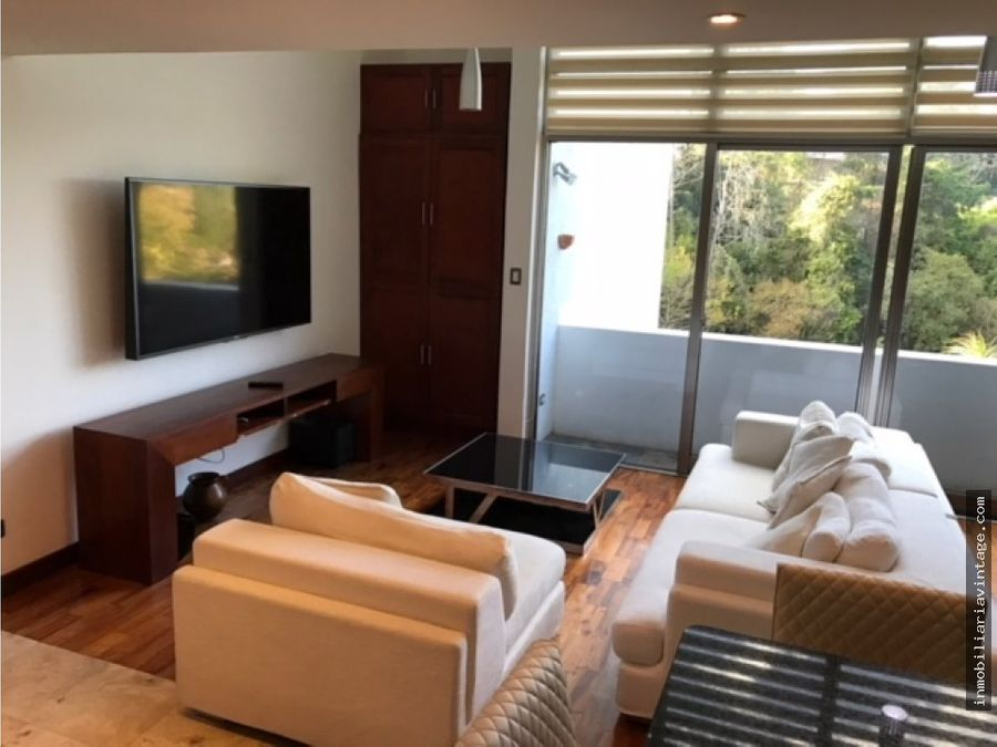 apartamento loft amueblado zona 15