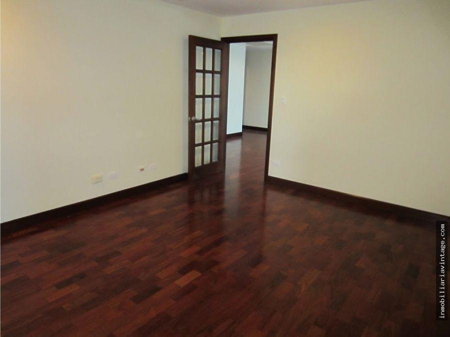 apartamento amueblado y equipado edificio zona 10