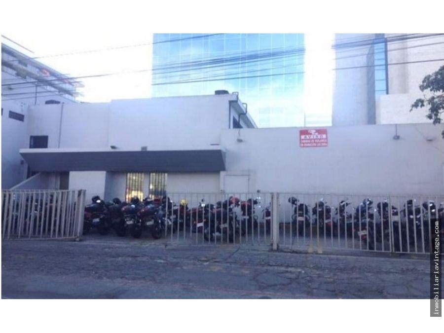 propiedad comercial en venta zona 9 entre reforma y 7 avenida