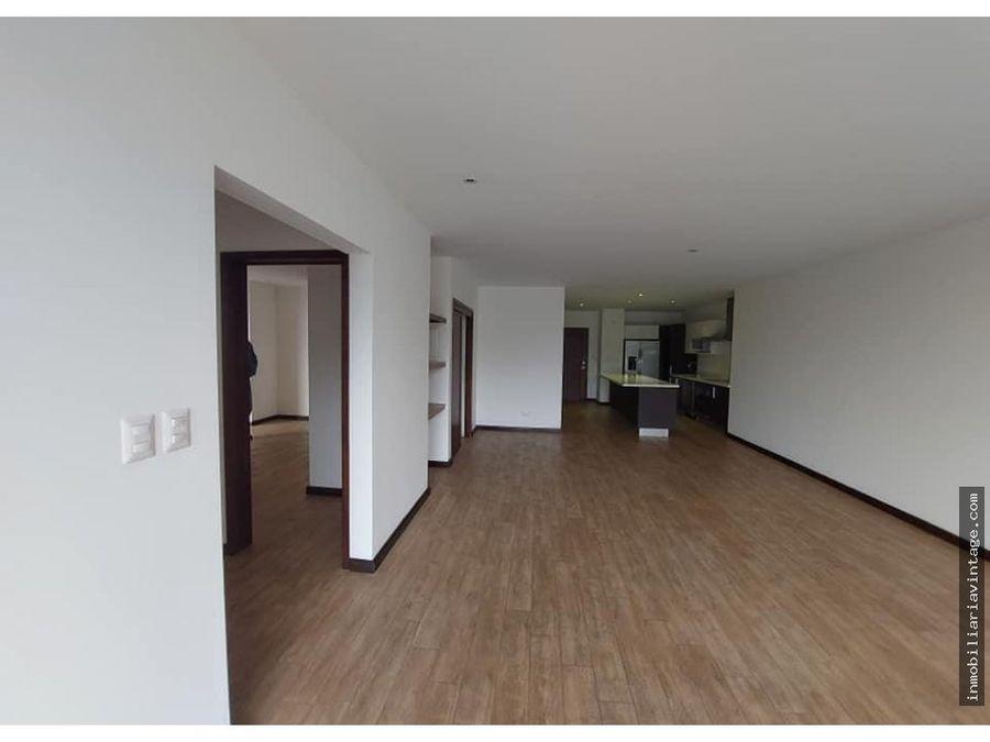 apartamento rentaventa en edificio zona 15 vhii
