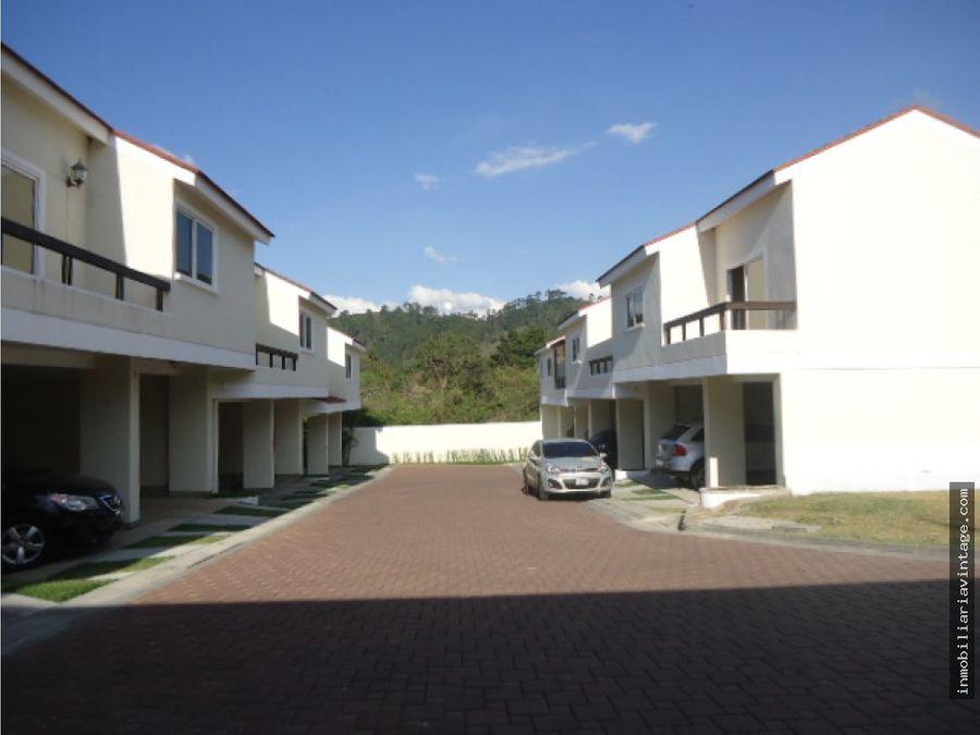 casa en venta las cascadas de la montana zona 16