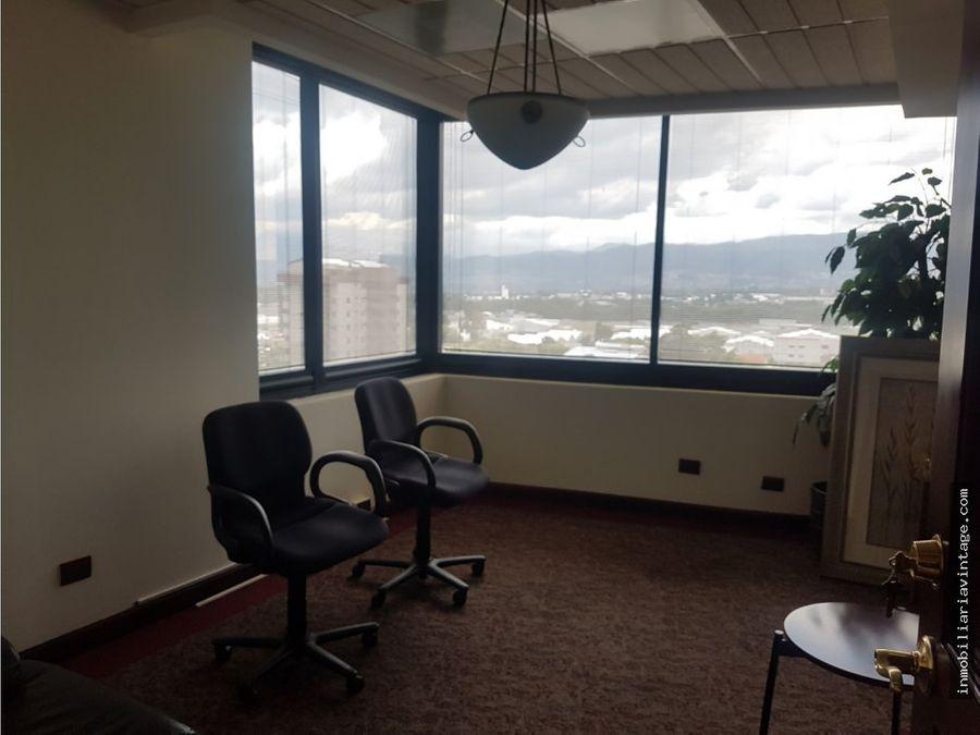 oficina totalmente amueblada zona 14