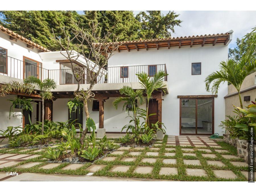 preciosa casa en venta condominio jardines de antigua