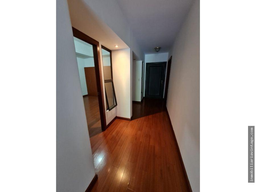 apartamento en renta zona 15 vhii