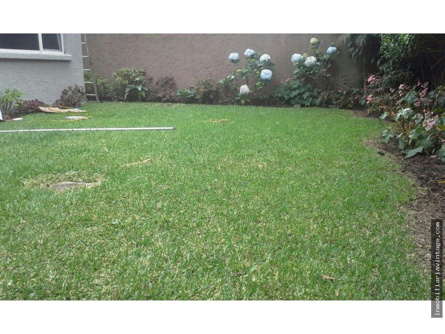 linda casa km 125 ces con hermoso jardin