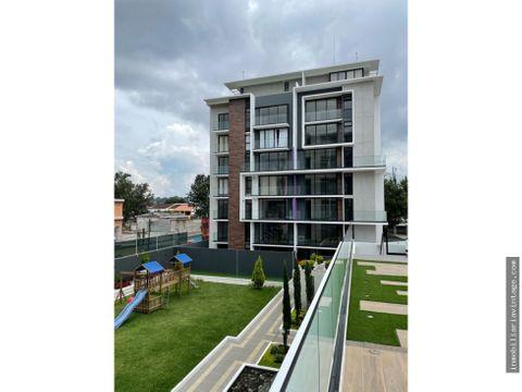 apartamento en renta zona 15 nivel alto