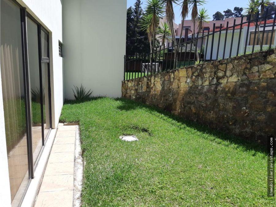 linda casa en renta vista hermosa 1 san lazaro