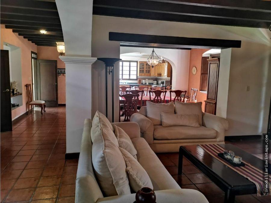 casa venta antigua guatemala