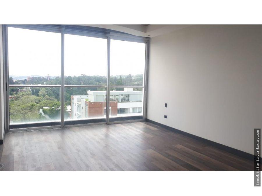 apartamento en venta vista hermosa i zona 15