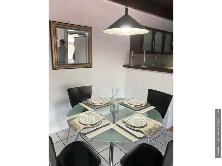 apartamento amueblado en renta zona 15 vhii