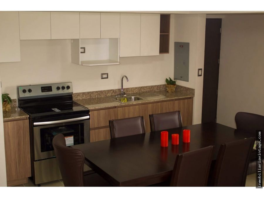 apartamento amueblado y equipado en zona 12 santa elisa
