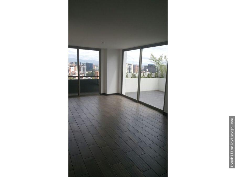 penthouse en alquiler zona 10