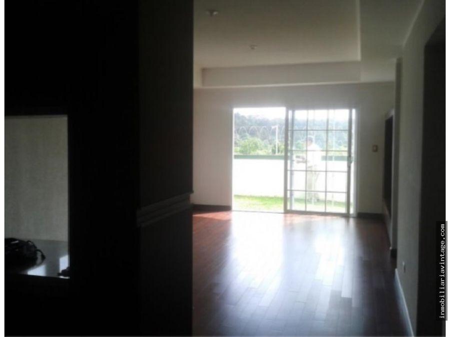 lindo apartamento con jardin zona 16 la vista