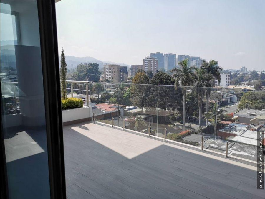 apartamento para estrenar en venta zona 15 vhii