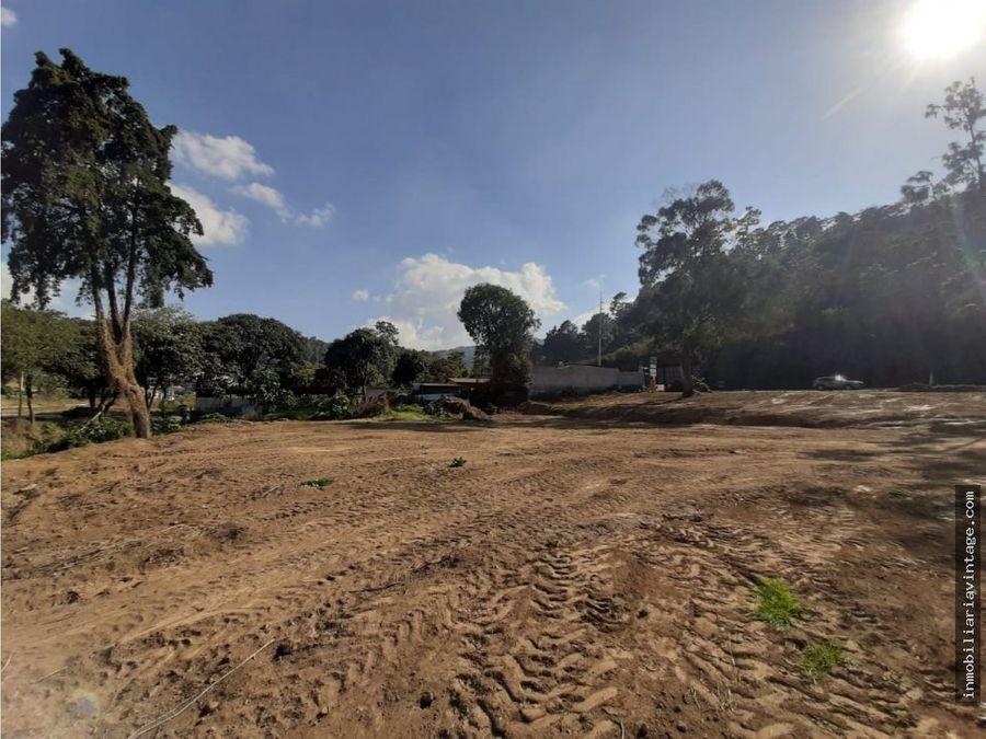 terreno ubicado sobre ruta interamericana km 37
