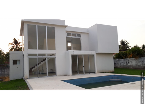 casa en residencial exclusivo san marino puerto de san jose