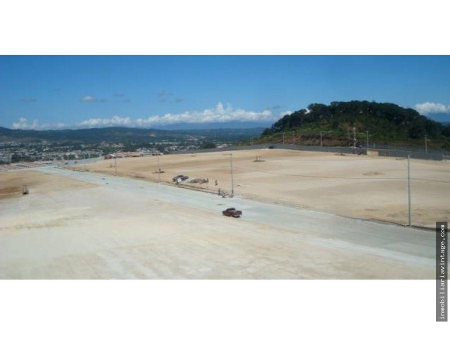 venta terrenos urbanizados en parque industrial naranjo