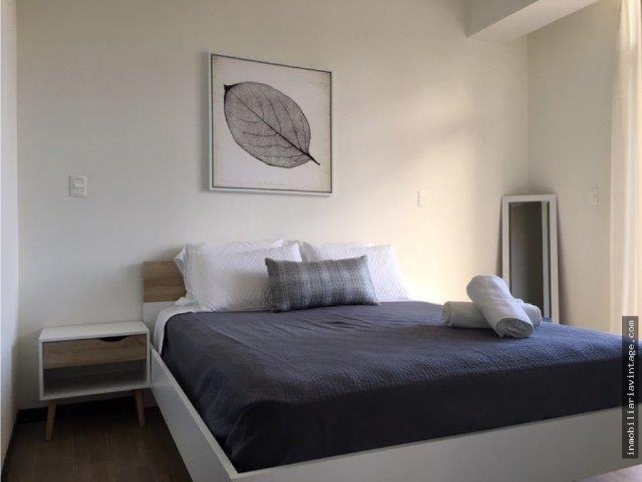 apartamento amueblado zona 13 muy bien ubicado