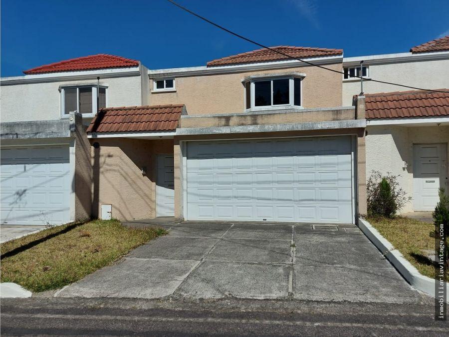 casa en venta ces km165 residenciales loma verde