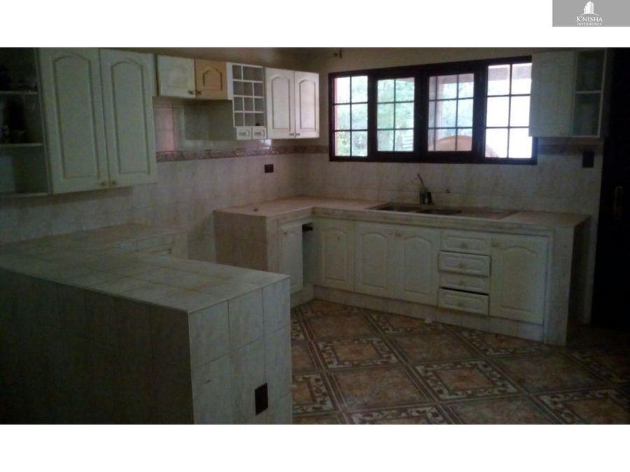 casa en venta como terreno apote 250000