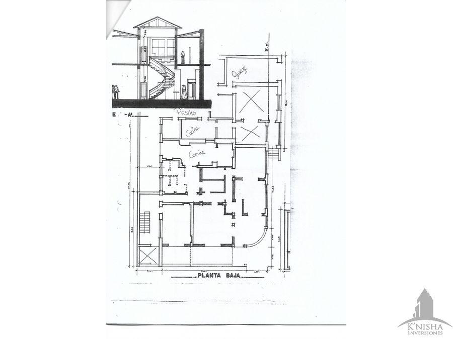 casa amplia en alquiler zona central 3500